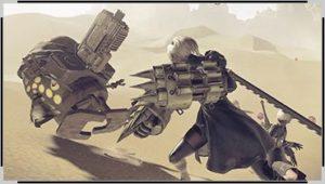 ニーアオートマタ格闘武器1