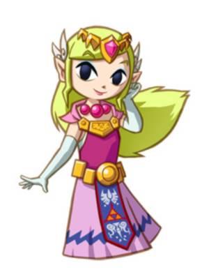 ゼルダ姫 風のタクト
